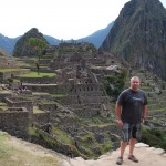 Crazy Dad at Machu Picchu