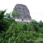 Visiting Lord Chocolate in Tikal
