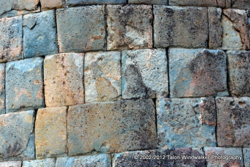 Incan stones fit tightly