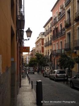 Our street in Madrid