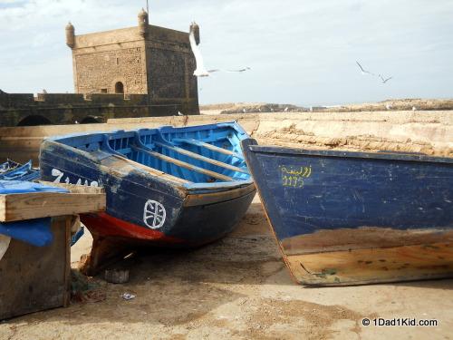 Skala in Essaouira, medina, Morocco