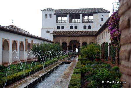 Generalife, La Alhambra