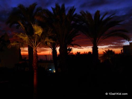 agadir, sunset, morocco