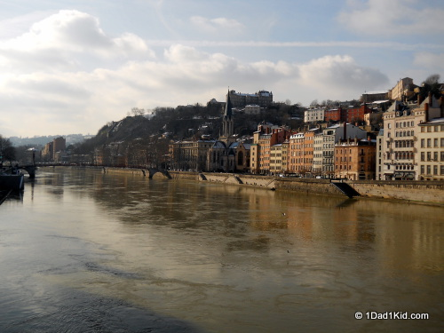 lyon, france, river saone