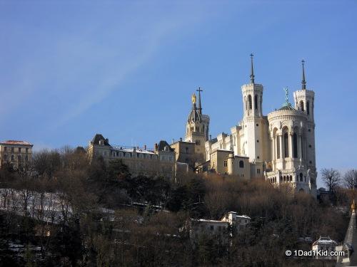 lyon, france, basilica