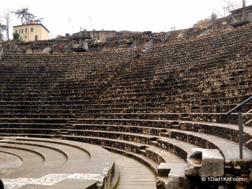 les theatres romains, lyon, france