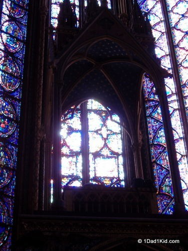 what to do in Paris, church, sainte chapelle