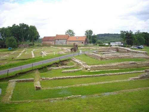 about the romans, france, normandy