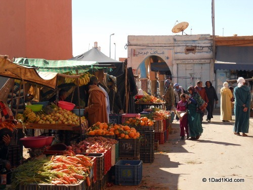 my travels, Morocco market