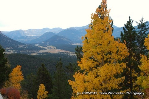 Seasons, fall in Estes Park