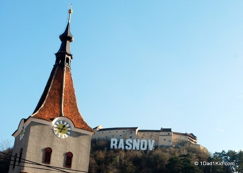 Rasnov, outside of Brasov