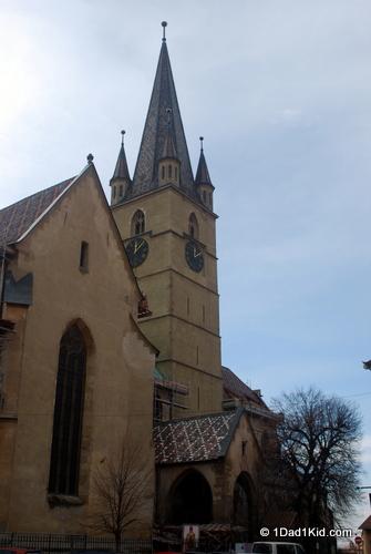 Visiting Sibiu