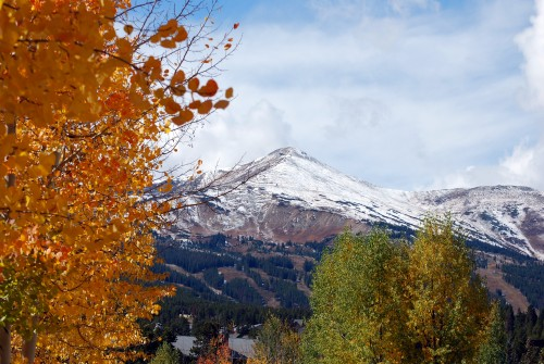 Breckenridge fall colors