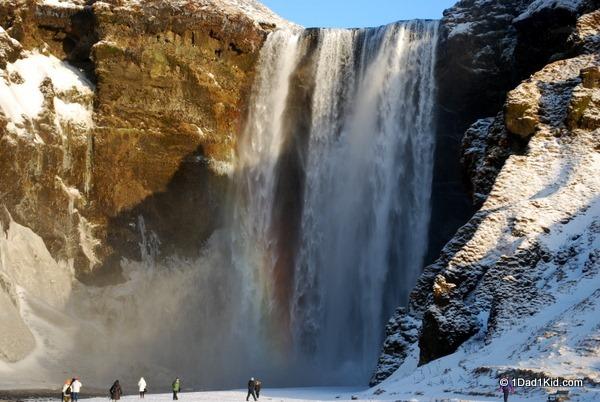 iceland, waterfalls