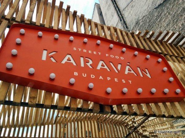 budapest restaurants, karavan, food truck