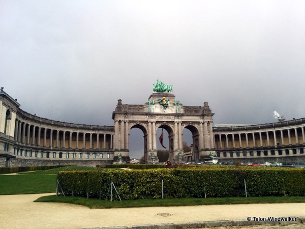 time in brussels, arc, arch, triumphal arc