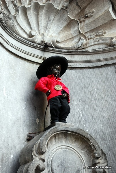 time in brussels, manneken pis