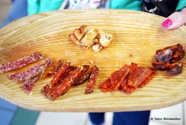 food tours budapest, sausage