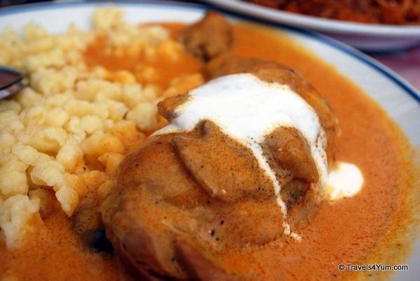 budapest restaurants, hungarian food
