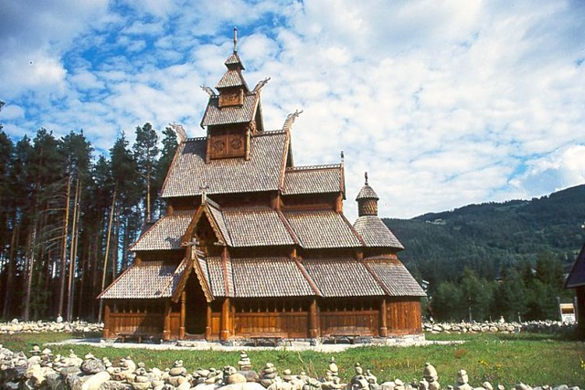 visit norway, gol stave church