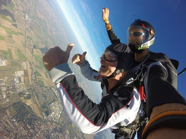 skydiving, uk, adventure travel