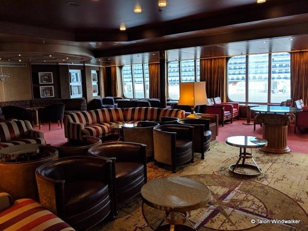 alaska cruise, lounge