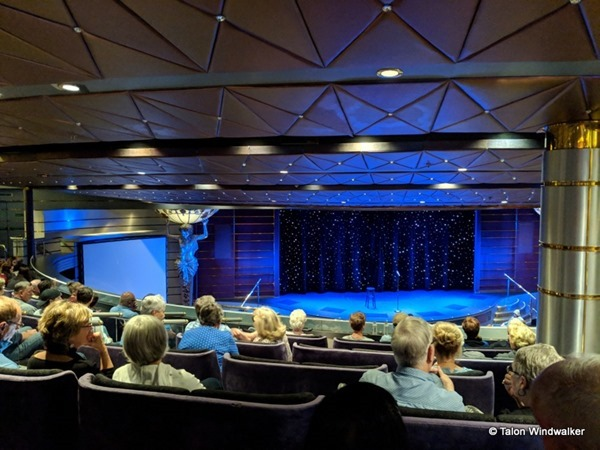alaska cruise, entertainment, theater