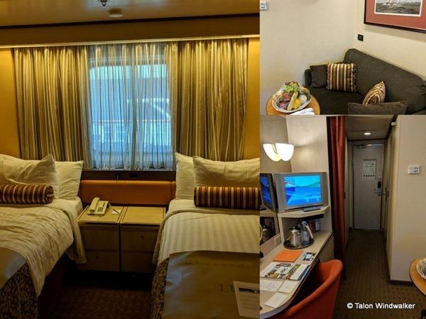 alaska cruise, cabin, oceanview